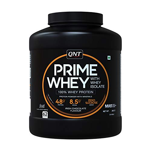QNT Prime Whey Protein 2 Kg Irish Chocolate